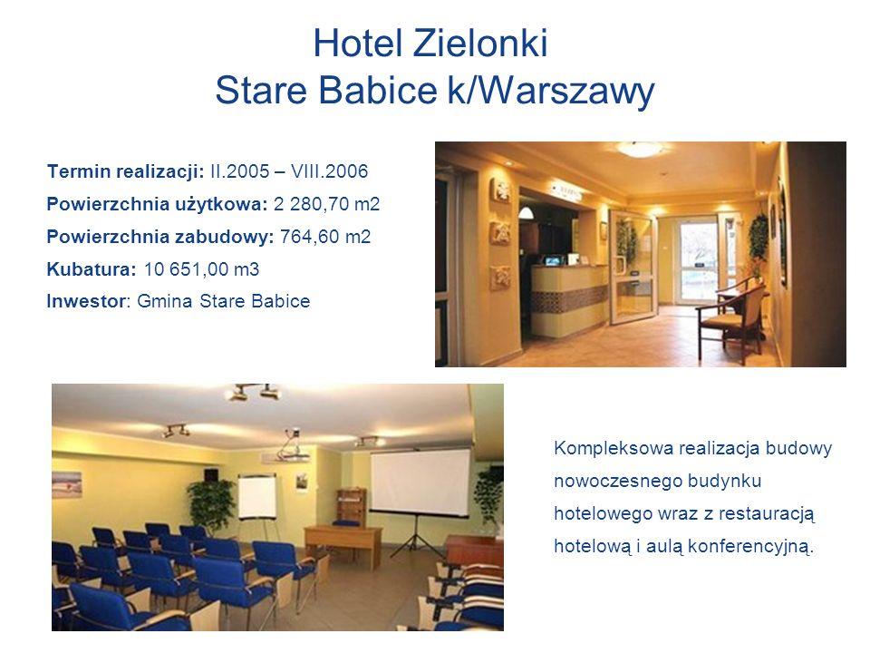 Hotel Zielonki Stare Babice k/Warszawy