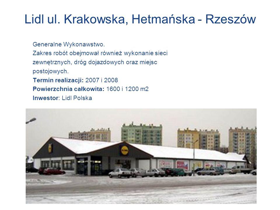 Lidl ul. Krakowska, Hetmańska - Rzeszów