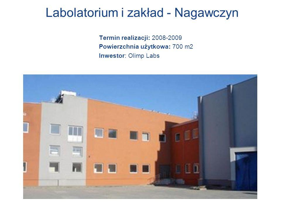 Labolatorium i zakład - Nagawczyn