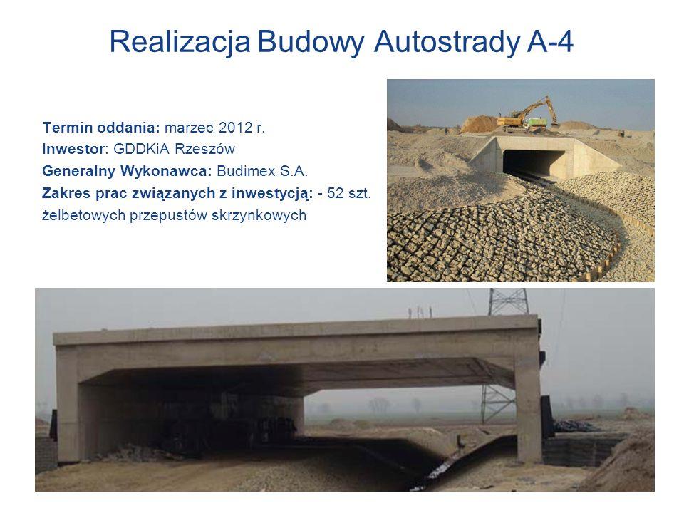 Realizacja Budowy Autostrady A-4
