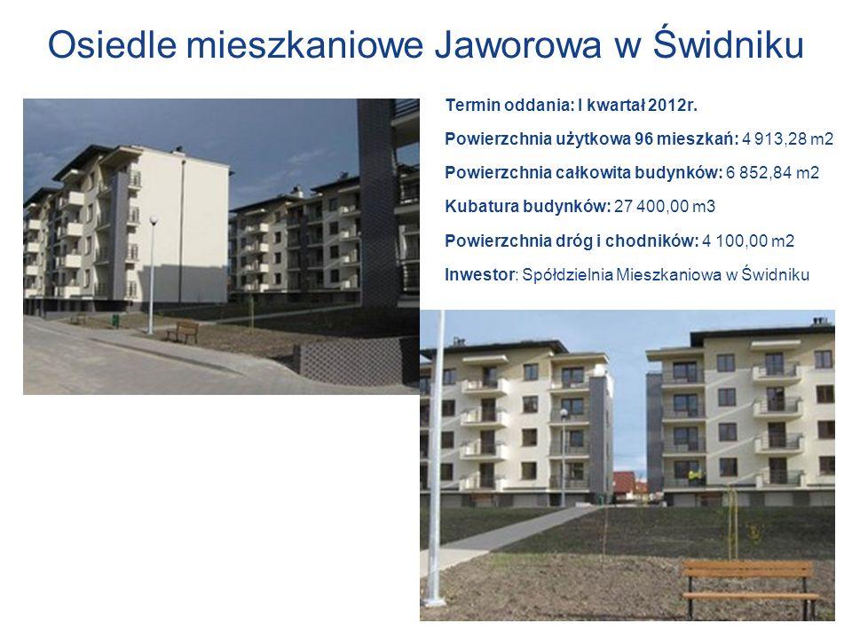 Osiedle mieszkaniowe Jaworowa w Świdniku
