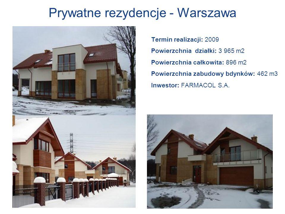 Prywatne rezydencje - Warszawa
