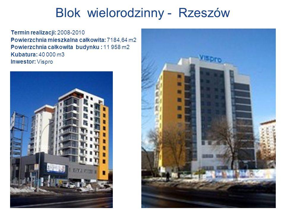 Blok wielorodzinny - Rzeszów