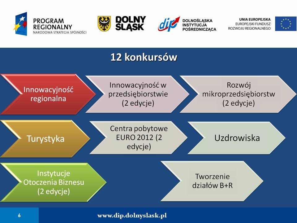12 konkursów 6 www.dip.dolnyslask.pl 6