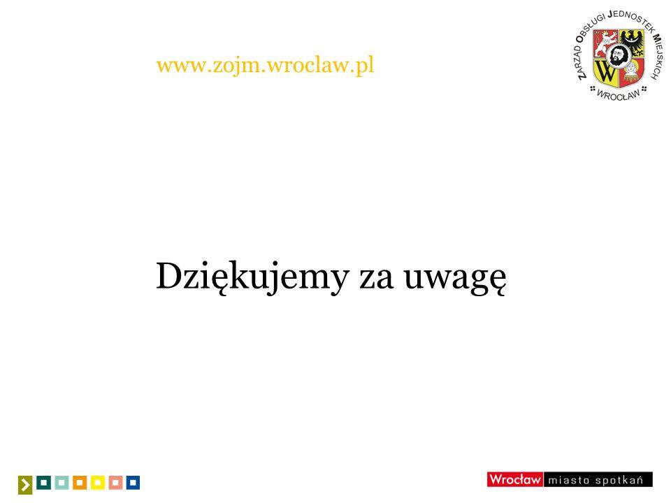 www.zojm.wroclaw.pl Dziękujemy za uwagę