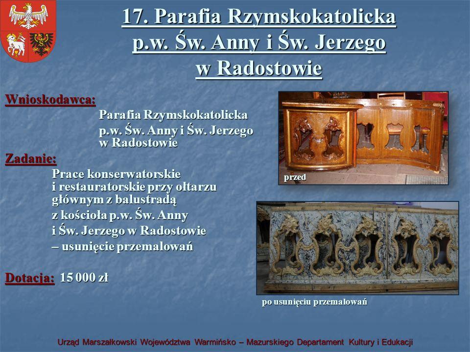 17. Parafia Rzymskokatolicka