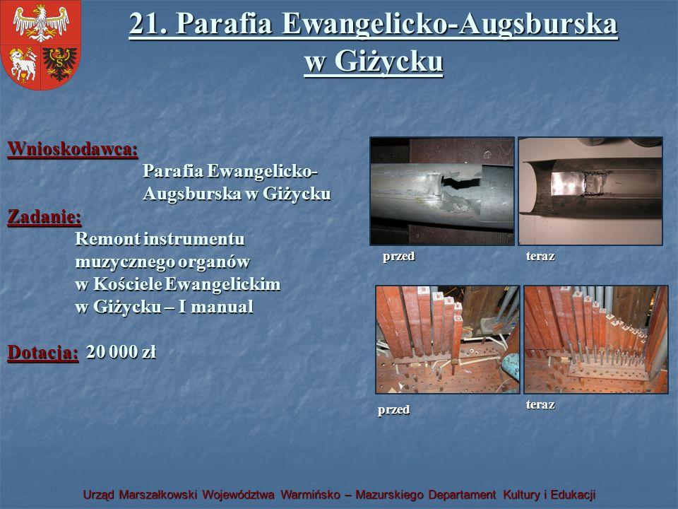 21. Parafia Ewangelicko-Augsburska