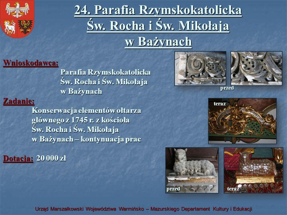 24. Parafia Rzymskokatolicka