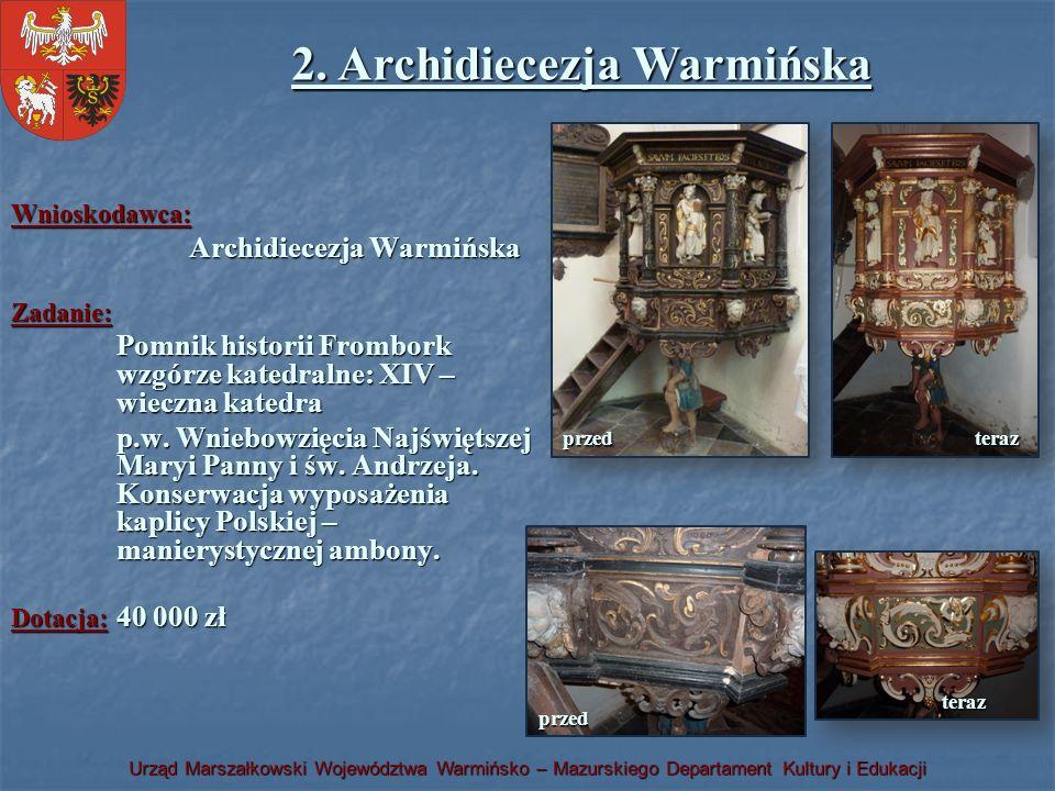 2. Archidiecezja Warmińska