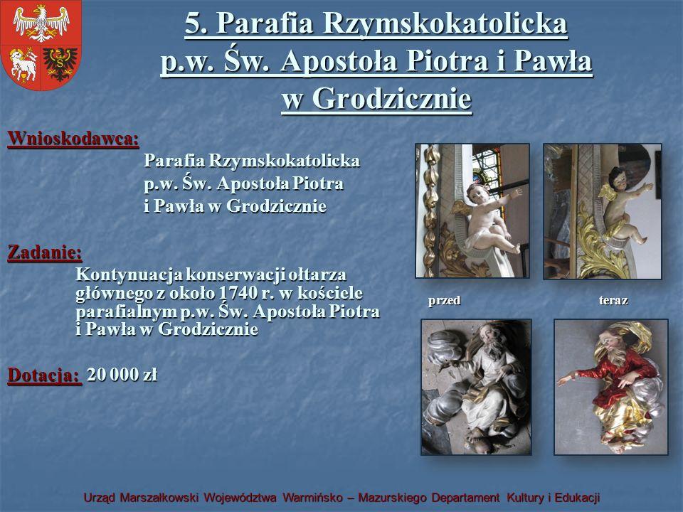 5. Parafia Rzymskokatolicka p. w. Św