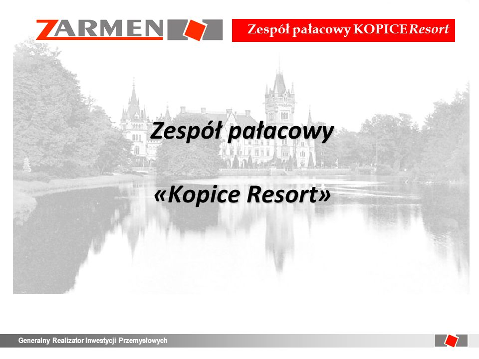 Zespół pałacowy «Kopice Resort»