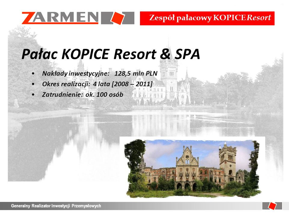 Pałac KOPICE Resort & SPA