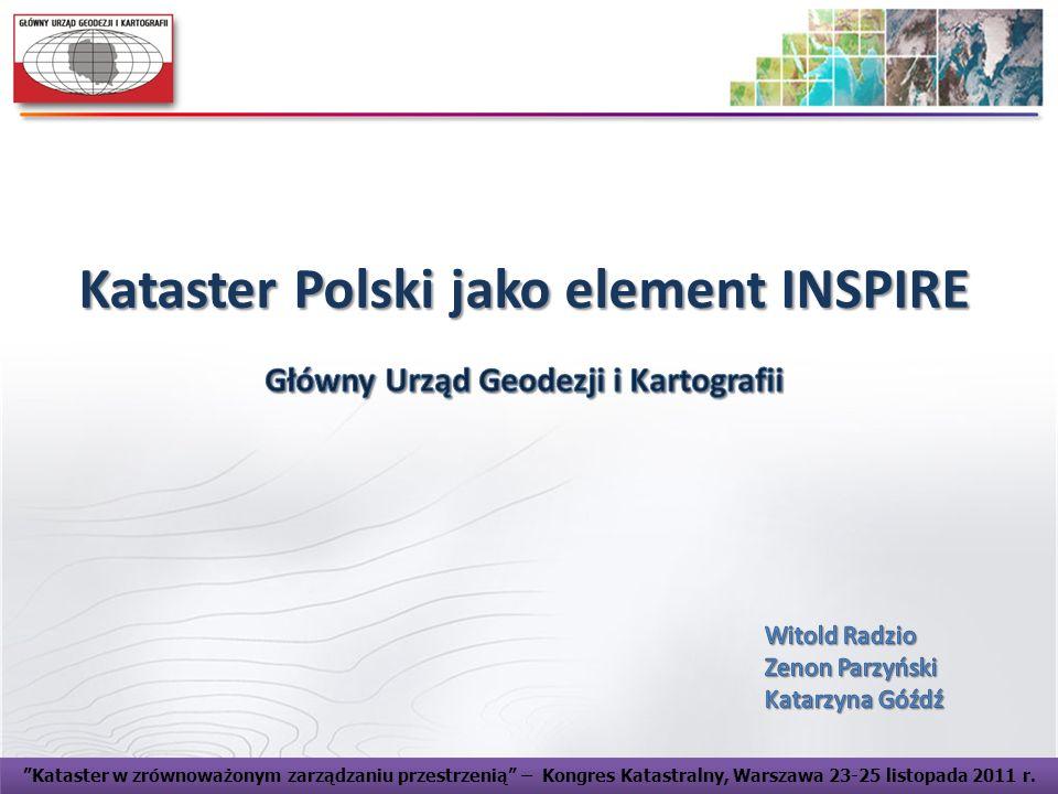 Kataster Polski jako element INSPIRE