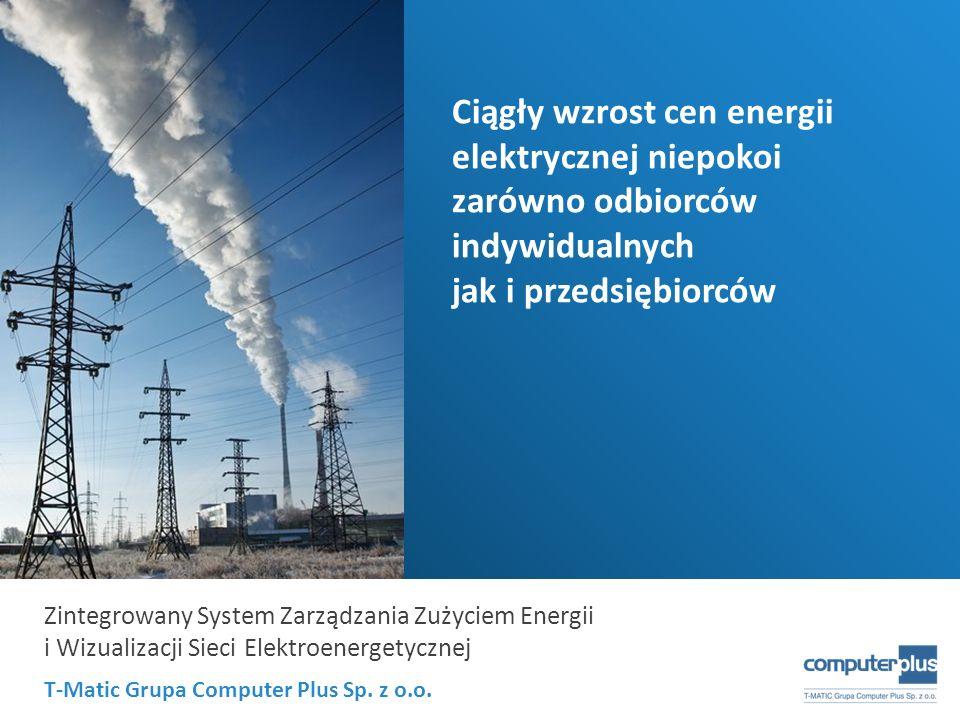 Ciągły wzrost cen energii elektrycznej niepokoi zarówno odbiorców indywidualnych