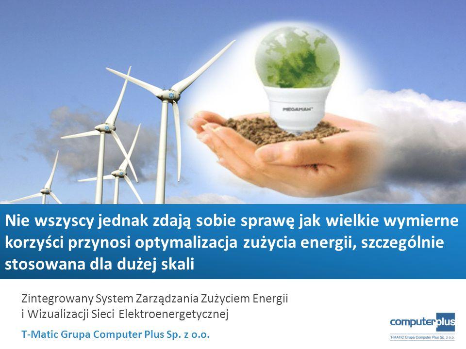 Nie wszyscy jednak zdają sobie sprawę jak wielkie wymierne korzyści przynosi optymalizacja zużycia energii, szczególnie stosowana dla dużej skali
