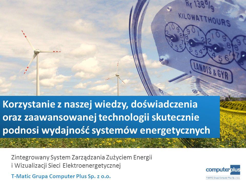 Korzystanie z naszej wiedzy, doświadczenia oraz zaawansowanej technologii skutecznie podnosi wydajność systemów energetycznych