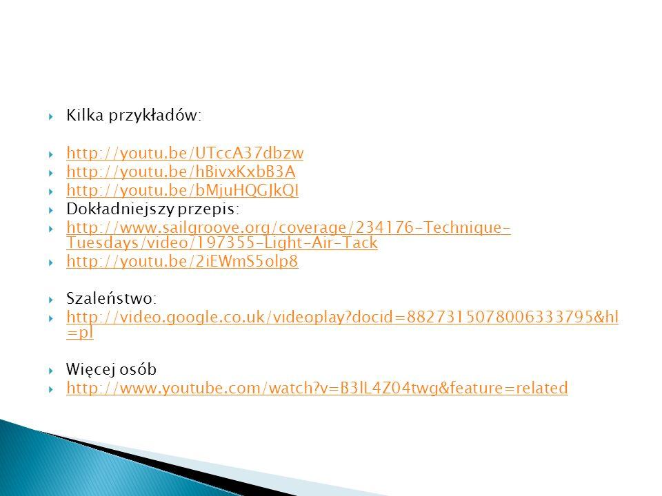 Kilka przykładów: http://youtu.be/UTccA37dbzw. http://youtu.be/hBivxKxbB3A. http://youtu.be/bMjuHQGJkQI.