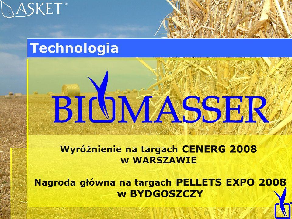 Technologia w BYDGOSZCZY Wyróżnienie na targach CENERG 2008