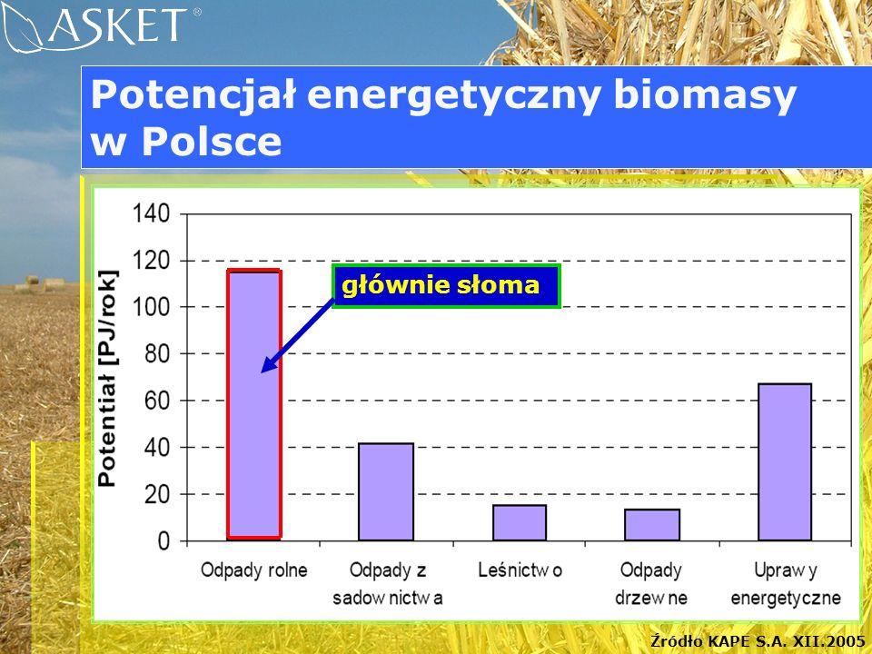 Potencjał energetyczny biomasy w Polsce