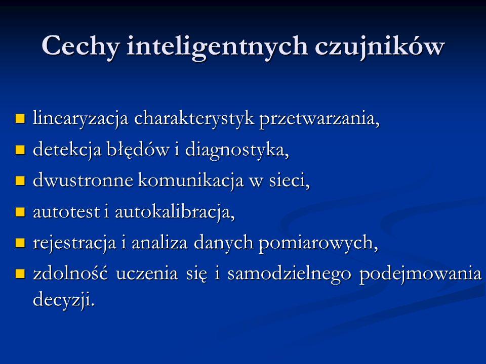 Cechy inteligentnych czujników