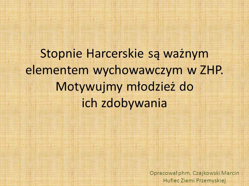 Opracował phm. Czajkowski Marcin Hufiec Ziemi Przemyskiej