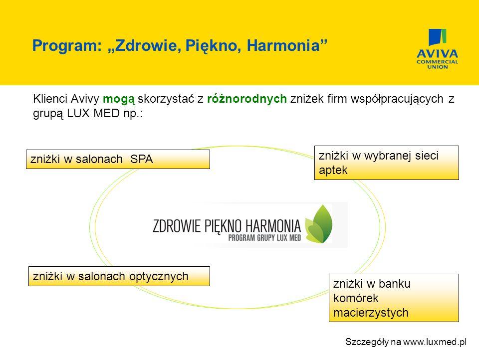 """Program: """"Zdrowie, Piękno, Harmonia"""