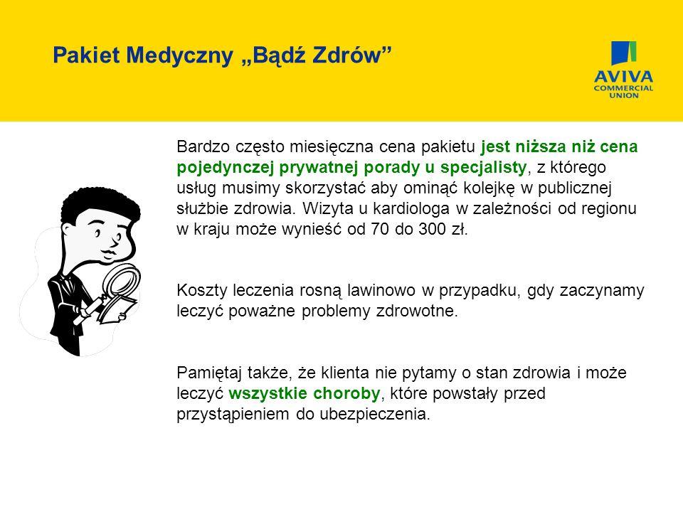 """Pakiet Medyczny """"Bądź Zdrów"""