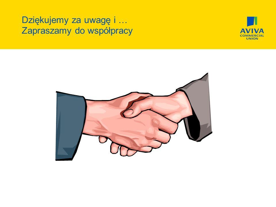 Dziękujemy za uwagę i … Zapraszamy do współpracy