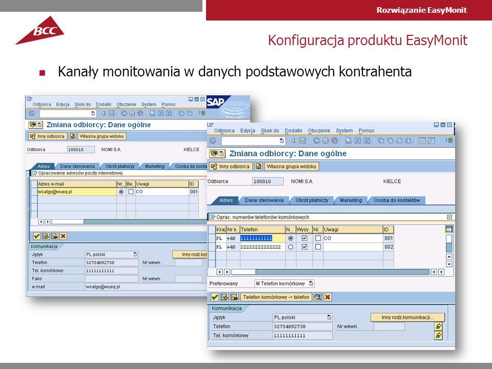 Konfiguracja produktu EasyMonit