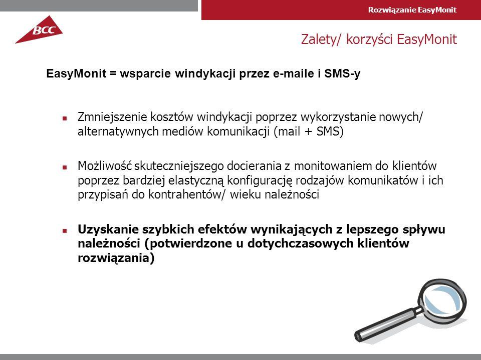 Zalety/ korzyści EasyMonit