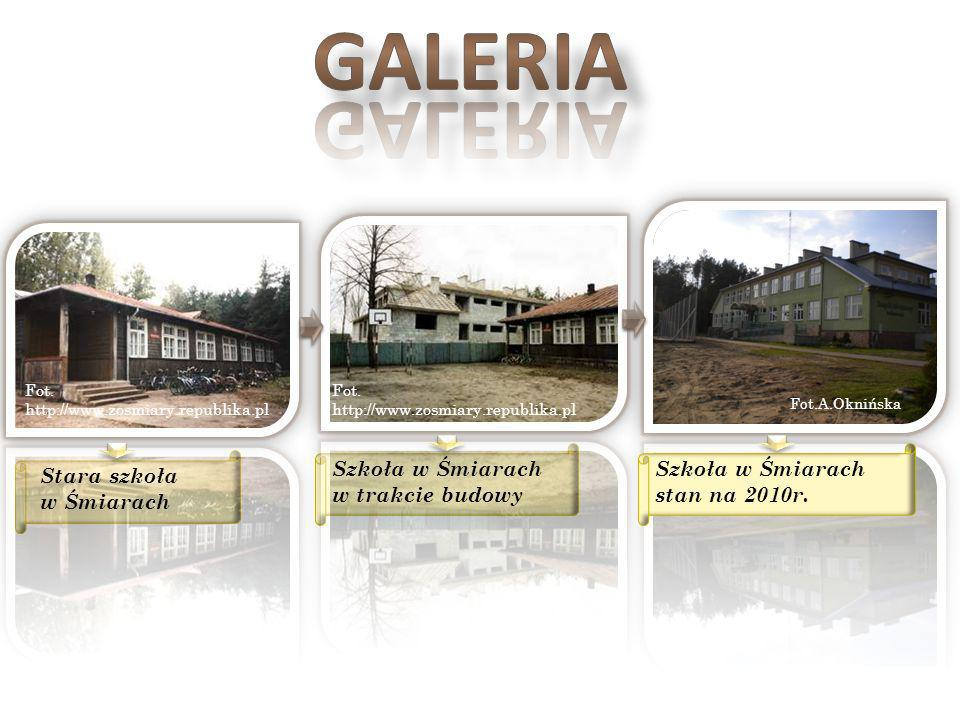 GALERIA Szkoła w Śmiarach w trakcie budowy
