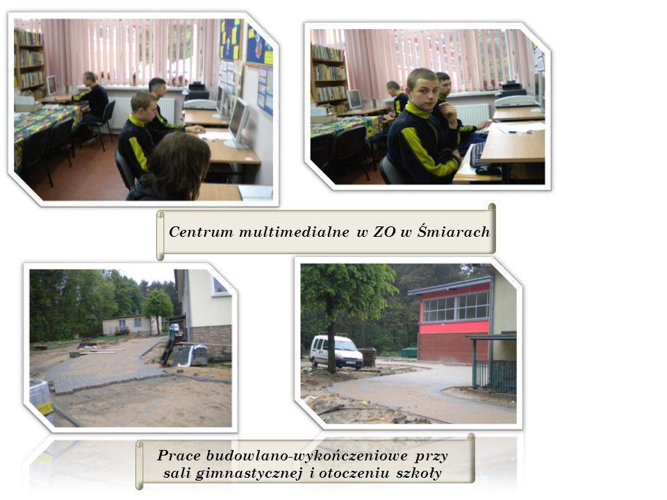 Centrum multimedialne w ZO w Śmiarach