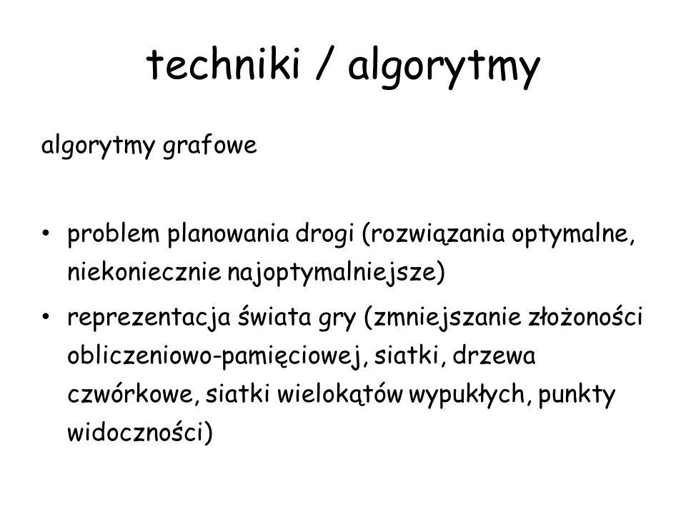 techniki / algorytmy algorytmy grafowe
