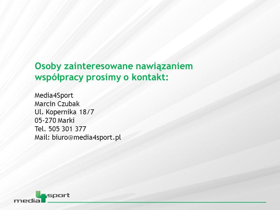 Osoby zainteresowane nawiązaniem współpracy prosimy o kontakt: