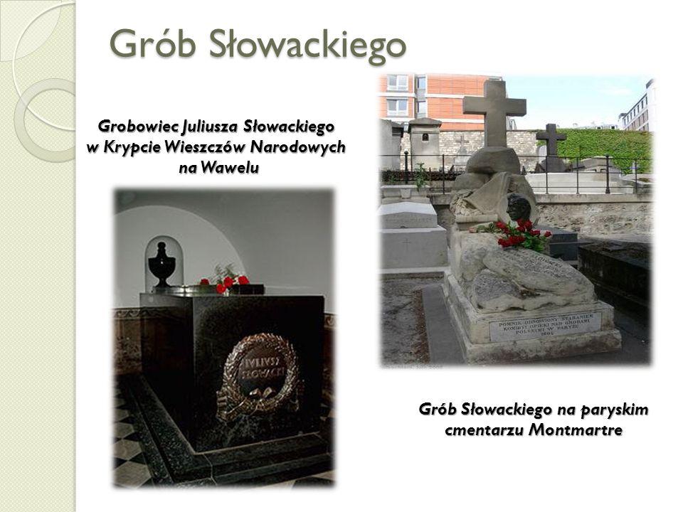 Grób Słowackiego Grobowiec Juliusza Słowackiego