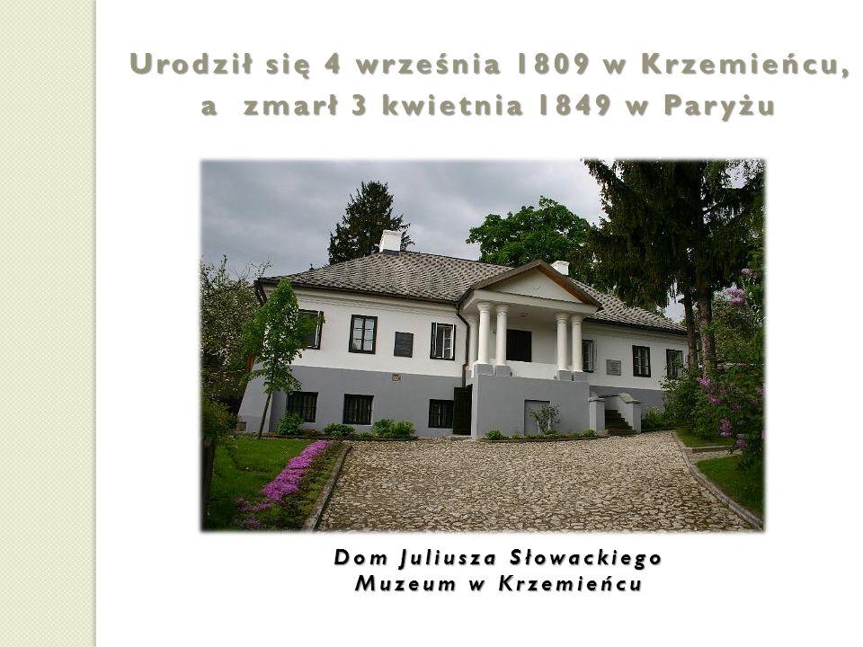 Urodził się 4 września 1809 w Krzemieńcu,