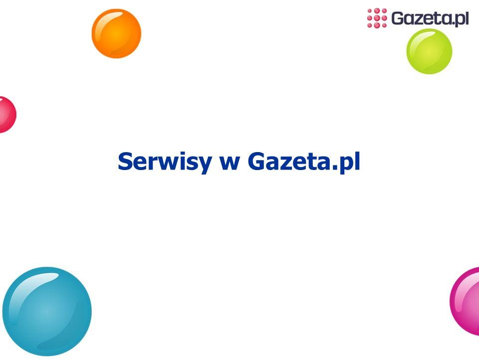Serwisy w Gazeta.pl