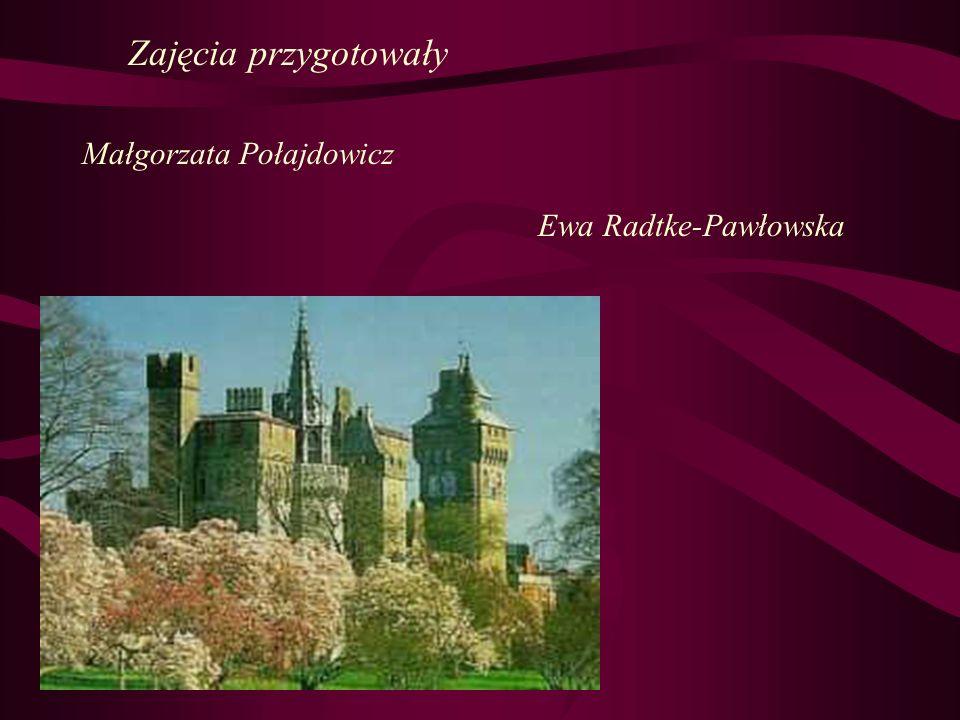 Zajęcia przygotowały Małgorzata Połajdowicz Ewa Radtke-Pawłowska