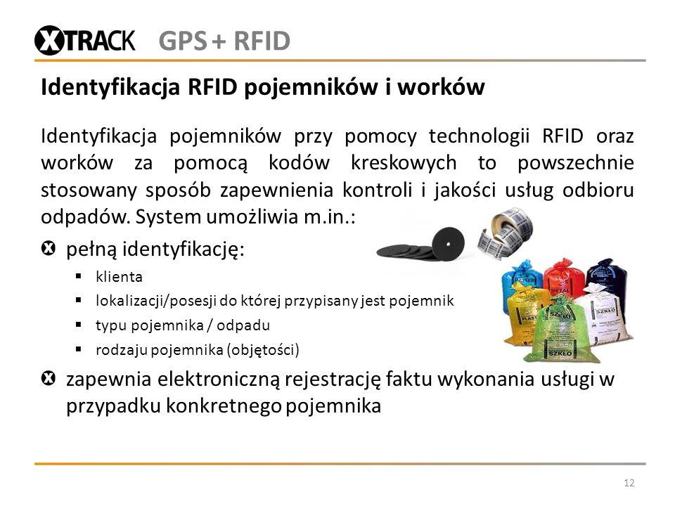 Identyfikacja RFID pojemników i worków