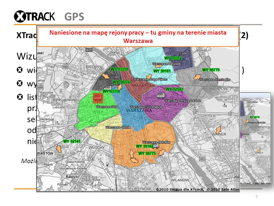 XTrack Komunal - monitorowanie pojazdów Wykonawców (2)