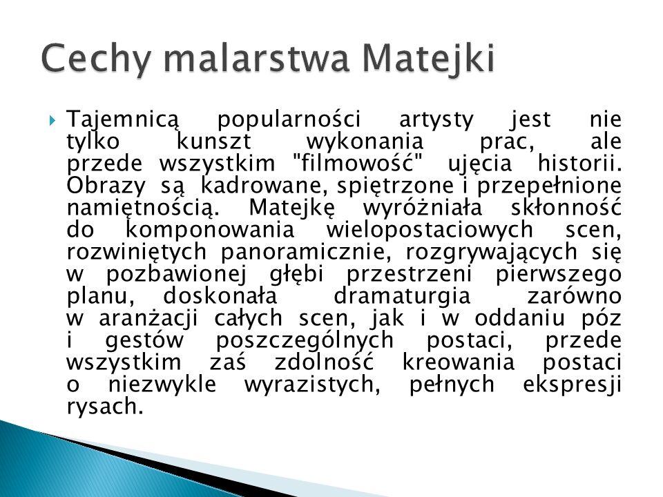 Cechy malarstwa Matejki