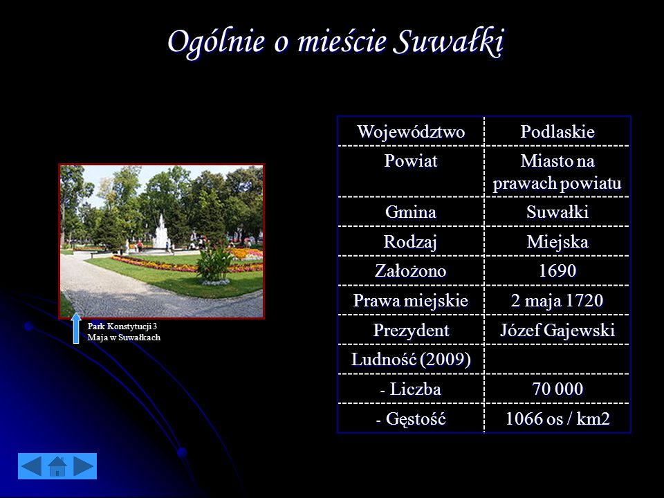 Ogólnie o mieście Suwałki