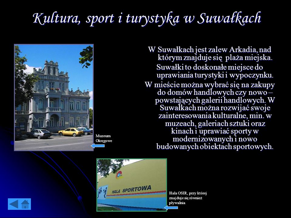 Kultura, sport i turystyka w Suwałkach