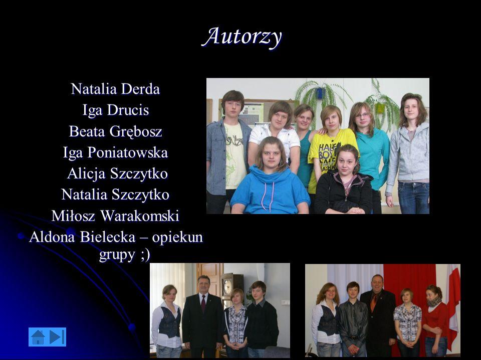 Aldona Bielecka – opiekun grupy ;)