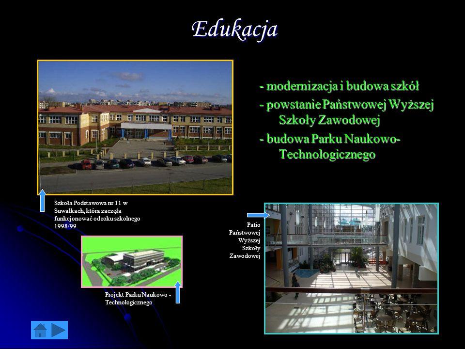 Edukacja - modernizacja i budowa szkół