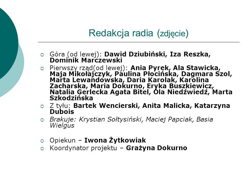 Redakcja radia (zdjęcie)