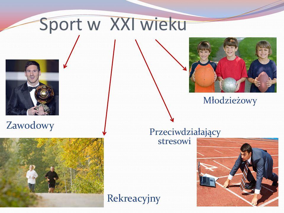 Sport w XXI wieku Zawodowy Rekreacyjny Młodzieżowy