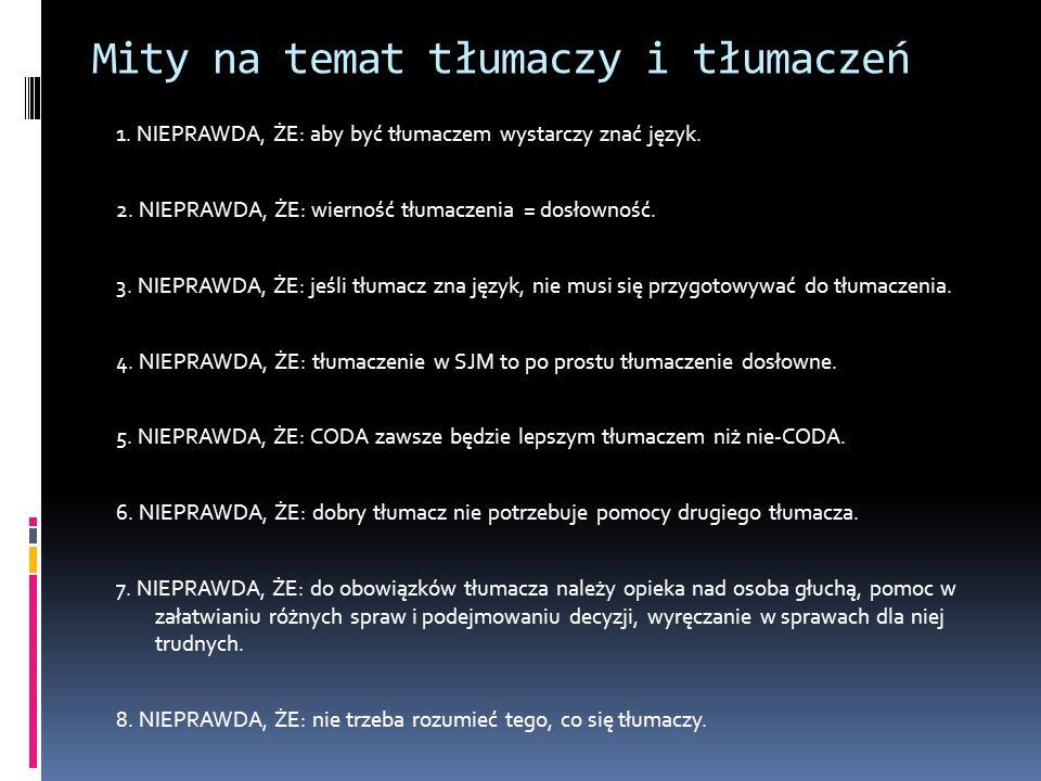 Mity na temat tłumaczy i tłumaczeń