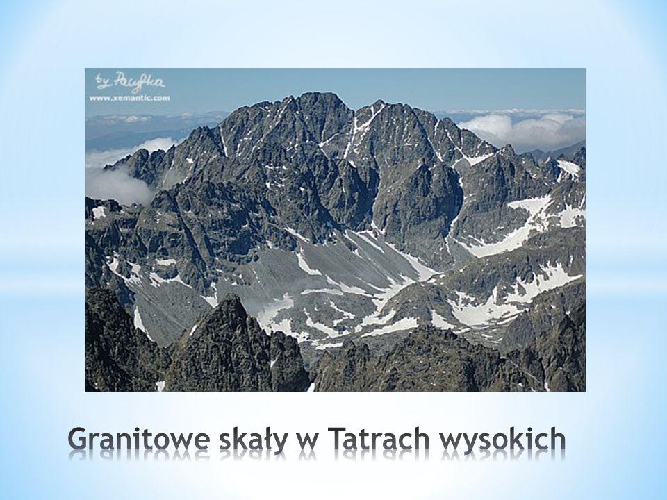 Granitowe skały w Tatrach wysokich