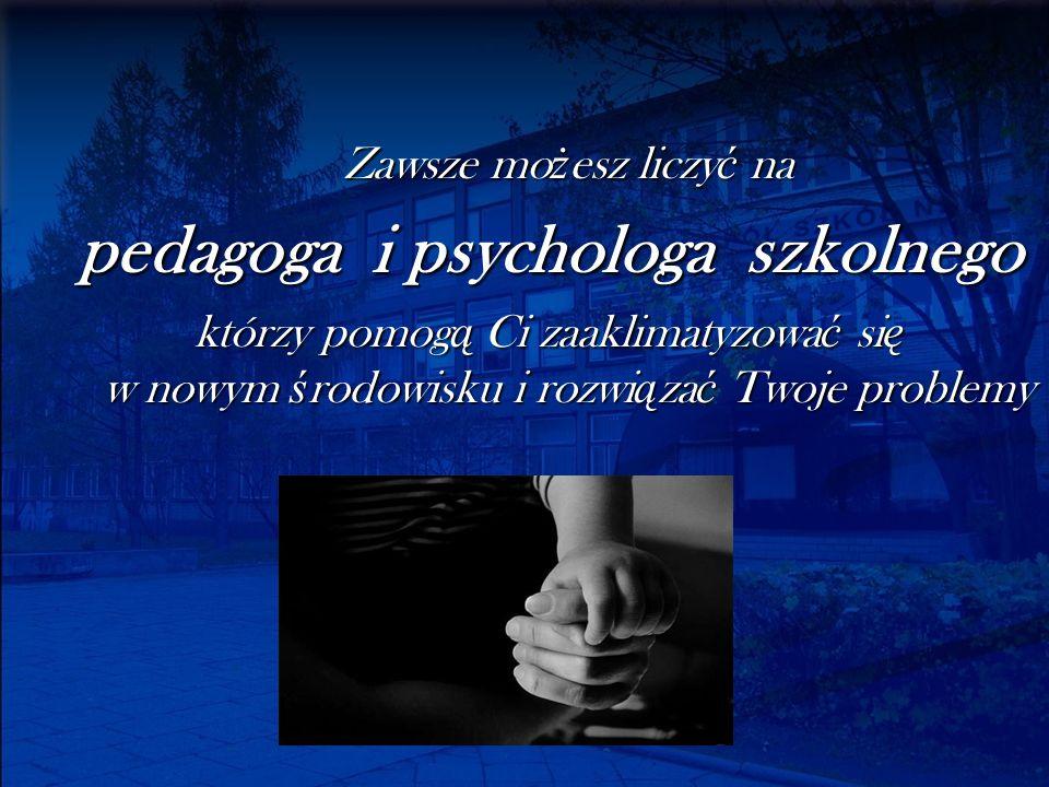 pedagoga i psychologa szkolnego